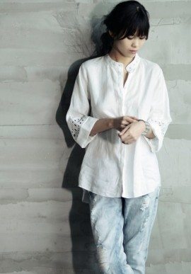 Ladies Embroidered Shirt